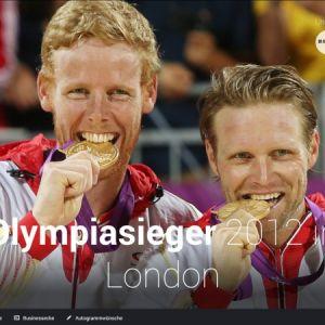 Artikelbild von Euroweb Sports Support launches the new website of Brink/Reckermann