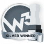 w3 Awards - Silver Winner