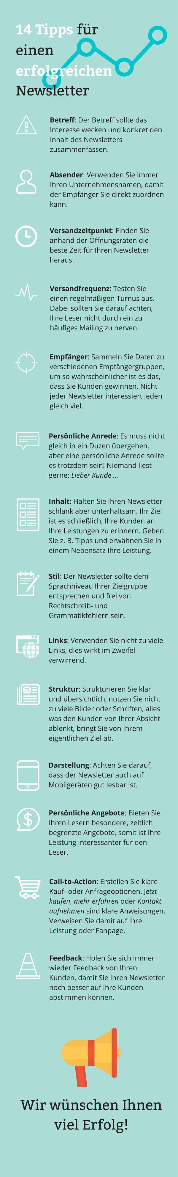 14 Wertvolle Tipps Für Erfolgreiche E Mail Newsletter