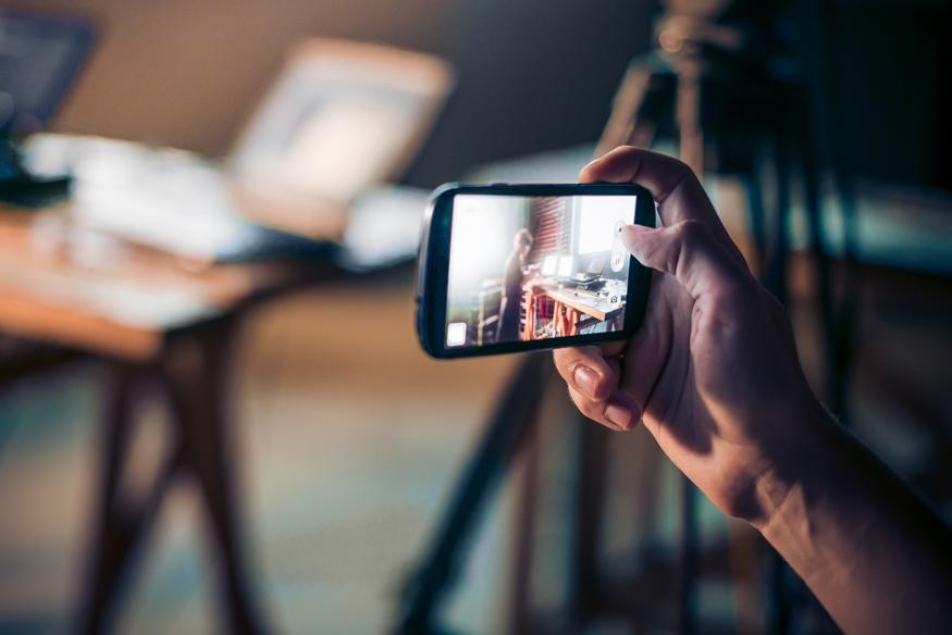 Mit dem Smartphone Videos aufnehmen