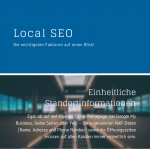 Infografik für Local SEO