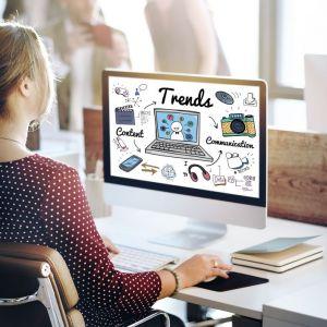 Artikelbild von Die größten Webdesign-Trends 2019